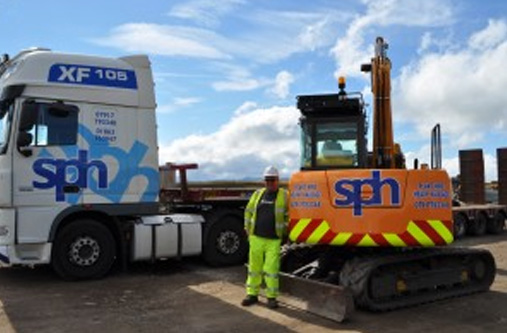 Shaw Plant Hire – SY75C Hydro project in Scottish Highlands