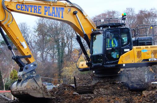 Centre Plant – Sany biggest excavator deal in UK